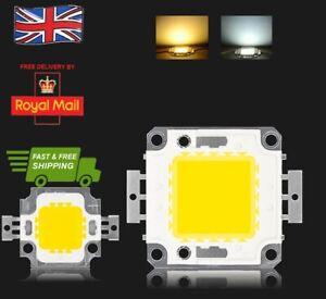 LED Cob Chip Lights SMD Bulb 100W 50W 30W 20W 10W Floodlight Genuine UK Seller
