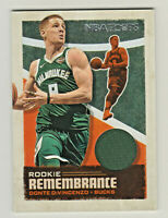 2019-20 Panini Hoops ROOKIE REMEMBRANCE RELIC #RR-DDV DONTE DiVINCENZO Bucks