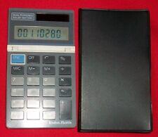 Vintage Radio Shack Dual Powered Calculator EC-424 Cat 65-564 used