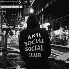 Anti Social Social Club Black ASSC streetshirt Mens Sweatshirt Mens Hoodies NEW