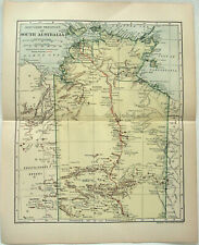 Map Of South Australia And Northern Territory.Northern Territory Australia Antique Australia Oceania Maps