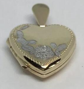 9 Carat Gold Heart Locket