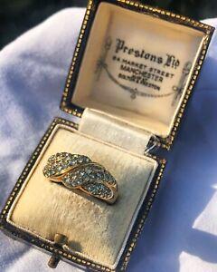 9ct Gold Alexandrite Ring (Size N) Full British Hallmarks