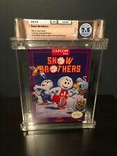 Snow Brothers NES - WATA Graded 7.5 - * RARE Game*