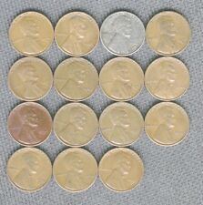 1941 S THRU 1955 S 15 S MINT PENNIES NICE COINS LOW SHIPPING