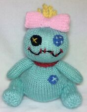 KNITTING PATTERN - Scrump inspired choc orange cover / 15cms Lilo and Stitch toy