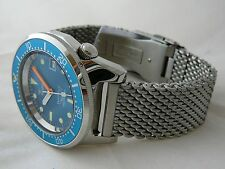 Watch Squale Professional OCEAN 500mt -polished case, MESH bracelet