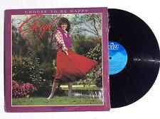 CHERYL PREWITT Choose To Be Happy Miss America 1980 vinyl LP MINT rare