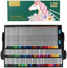 150 Choice Premier Colored Pencils Set Professional Art Drawing Artist Soft Core