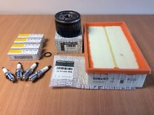 Genuine Renault Clio Sport 197 Service Kit ,Oil Filter, Air filter & Spark Plugs