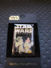 RARE WDW 2003 Star Wars Weekends Pin LE 7000 Jedi Mickey & Yoda w/lightsaber