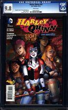 Harley Quinn 10 CGC 9.8 WP Modern Age DC Comic (2014) IGKC L@@K
