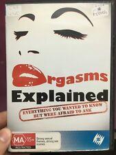 Orgasms Explained ex-rental region 4 DVD (SBS adult documentary) ** rare **