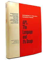 Raymond P Polivka APL The Language and its Usage 1st Edition 1st Printing
