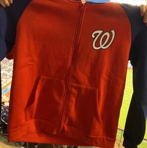 Washington Nationals Fleece Jacket SGA 9/13/21 XL