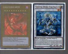 Yugioh Card - Ultra Rare Holo - Celestial Double Star Shaman DUSA-EN018 1st Ed