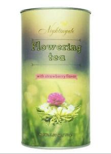 Nightingale Flowering Tea - Strawberry Flavor, 12 tea balls - 3.19 oz