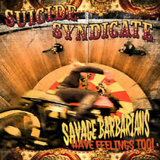 Suicide Syndicate - Savage Barbarians... Have Feelings Too! [New CD] Digipack Pa