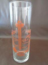 Niagara Falls Skylon Souvenir Glass 1980's (Cat.#1A021)