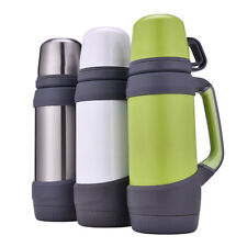 thermos flask vacuum cup large capacity outdoor hiking camping bike water bottle
