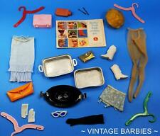 Barbie Doll Mixed Accessories Lot #7 Excellent - Tlc ~ Vintage 1960's