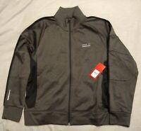 Polo Sport by Ralph Lauren Performance Full Zip Gray Tech Fleece Track Jacket, L