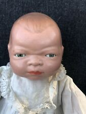 1930's Bye-lo Baby Grace Storey Putnam Marked Body Celluloid Hands 15""
