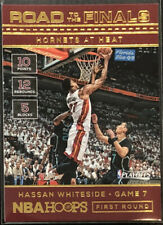 2016-17 HASSAN WHITESIDE PANINI NBA HOOPS ROAD TO THE FINALS INSERT 754/2016!