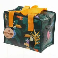 Toucan Party Eco Friendly Bag MINI Lunch Bag Lunchbox Woven Insulated Cooler