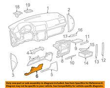 VW VOLKSWAGEN OEM Jetta Instrument Panel Dash-Lower Trim Left 1J1858365C4TE