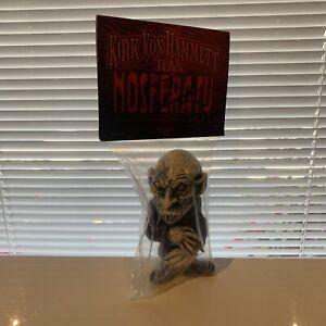 Metallica Kirk Von Hammett Signed Figure Nosferatu Autographed 2013 Comic Con