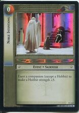 Lord Of The Rings Foil CCG Card RotK 7.C322 Noble Intentions