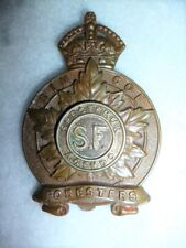 M58 - The Simcoe Foresters Cap Badge circa 1920-1936