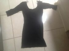 SUPRE Black Mini Dress Half Sleeve Size Small BNWOT