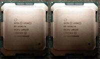 2x Intel Xeon E5-2630Lv4 Ten Core 1.80GHz 25MB SR2P2 CPU Server Processor 8GT/s