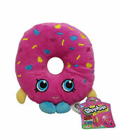 "NEW Shopkins 6"" D'Lish Donut Plush Toy - Official Product + Stickers Gift USA"