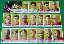 PANINI FOOTBALL FOOT 2007 OGC NICE OGCN NISSA RAY COMPLET FRANCE 2006-2007