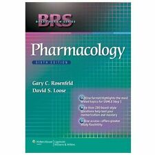 BRS Board Review Series Pharmacology 6th Edition 6E Rosenfeld - PDF eDelivery