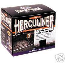 Black_case _Herculiner Roll In Bedliner Kit_Black. 4 gallon lot, bulk, 4 kits!