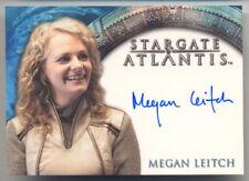 Stargate Heroes Megan Leitch Capt Helia Autograph Card