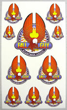 "RC ""FALL GUY"" Truck decals stickers SC10 Traxxas Slash"