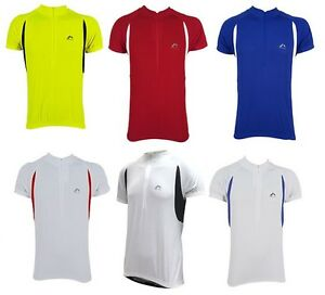 More Mile Mens Cycling Cycle Bike Running Top T-Shirt Jersey