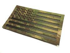 Standard Infrared Kryptek Mandrake Ir Us USA Flag hook/loop Uniform Patch 3.5x2