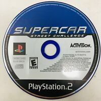 Supercar Street Challenge (Sony PlayStation 2, 2001) PS2 - DISC ONLY