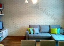 10m² Riemchen Verblender / Verblendstein aus Beton, innen & außen, weiß