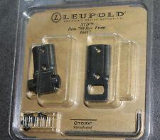 Leupold STD Base fits Rem Model 700  Rev. Front Gloss Black RVF # 50017