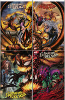 AMAZING SPIDER-MAN #797-800 TYLER KIRKHAM CONNECTING COVERS EXCLUSIVE VARIANTS