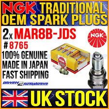 2x NGK BMW R1200GS ADV/M 2009 ORIGINAL OEM MAR8B-JDS SPARK PLUGS 88