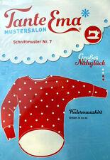 TANTE EMA SCHNITTMUSTER Nr.7  Fledermausshirt  34-46