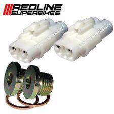 o2 Oxygen Lambda Sensor Eliminator & Blanking Plugs Suzuki M109R C109R  08-15